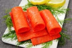 11. Geräucherte Seelachserzeugnisse
